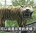 印尼老虎雕像表情包完整版