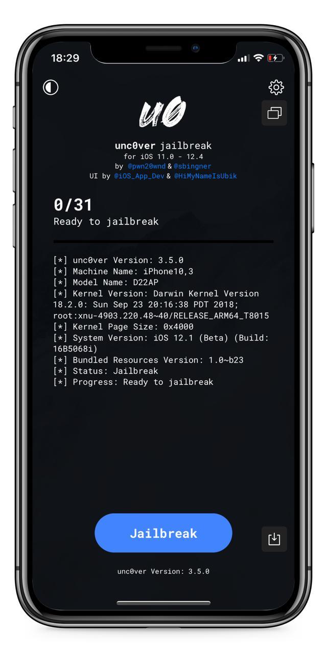 iOS12.4越狱工具图1