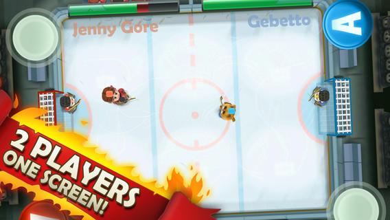 怒火冰球游戏图1