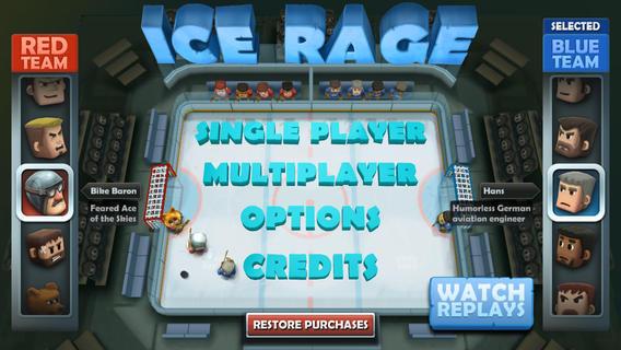 怒火冰球游戏图3