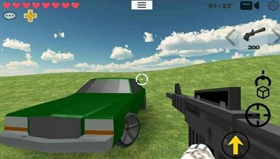 我的战争:多人沙盒射击无限app图2